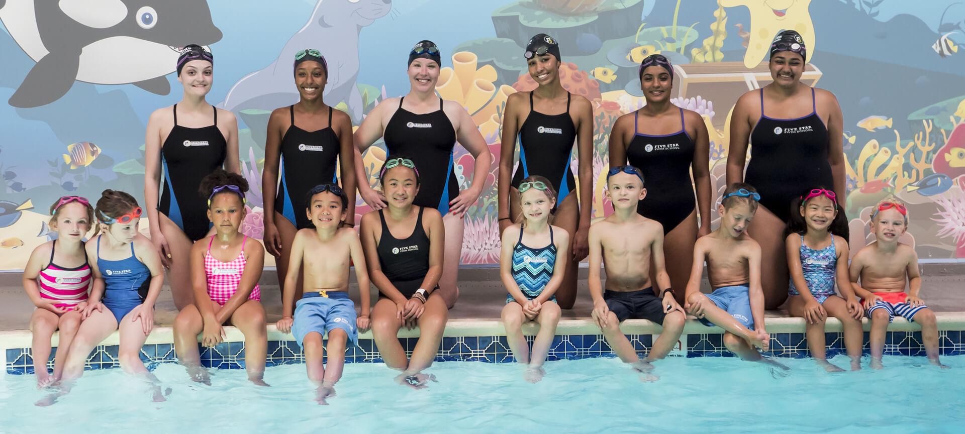 Home five star swim school swimming lessons - Public swimming pools in edison nj ...
